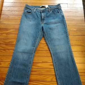Gap Distressed Boot Cut Jeans Size 14R